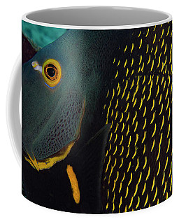 Coffee Mug featuring the photograph Angel Profile by Jean Noren