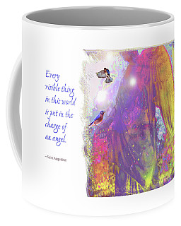 Coffee Mug featuring the photograph Angel Vision by Marie Hicks