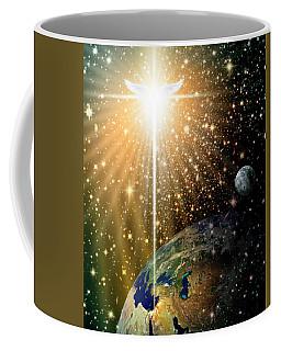 Angelic Star Over Bethlehem Coffee Mug