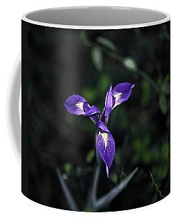 Angelpod Blue Flag Coffee Mug by Sally Weigand