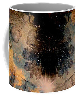 Angels Administering Spiritual Gifts Coffee Mug by Leanne Seymour