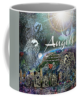 Angels Coffee Mug by Evie Cook