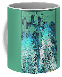 Angels Marching To The Beat Of The City Lights Coffee Mug
