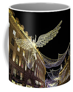 Angels Of Regent Street 5 Coffee Mug by Shirley Mitchell
