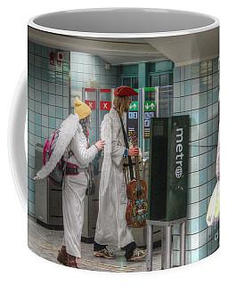 Angels Stokholm Coffee Mug by Yury Bashkin
