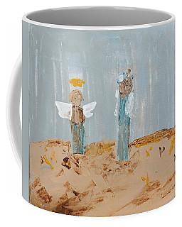 Angels Taking Care Of E Coffee Mug
