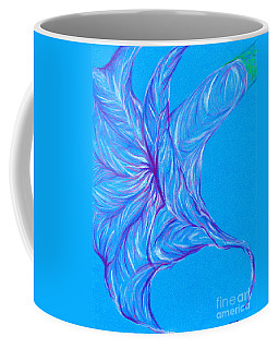 Coffee Mug featuring the photograph Angel's Trumpet by Kim Sy Ok