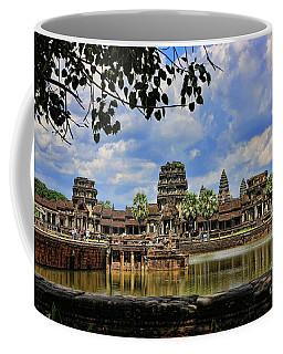 Angkor Wat Panorama  Coffee Mug by Chuck Kuhn