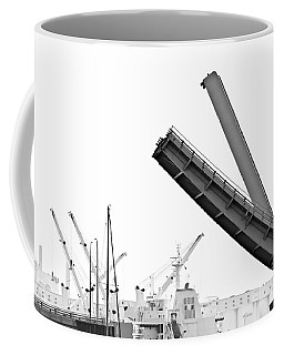 Coffee Mug featuring the photograph Angle Of Approach by Stephen Mitchell
