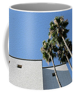 Angles And 3 Palm Tress Coffee Mug