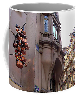 Angles And Details At Place Saint Andre Des Arts Coffee Mug
