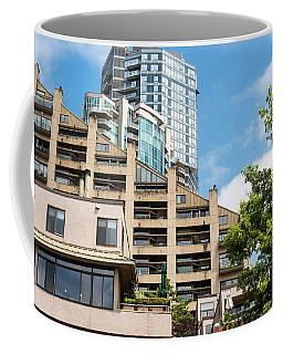 Angles Glass And Trees Coffee Mug