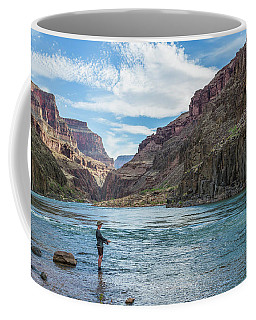 Angling On The Colorado Coffee Mug