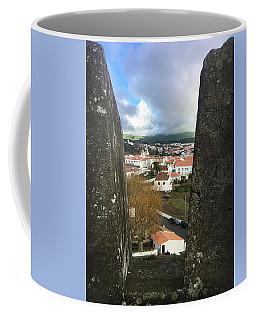 Angra Do Heroismo From Forte De Monte Brasil Coffee Mug