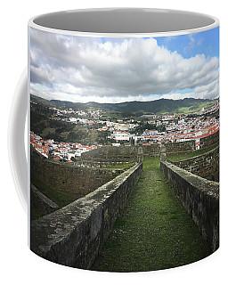 Angra Do Heroismo From The Fortress Of Sao Joao Baptista Coffee Mug by Kelly Hazel