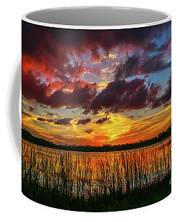 Angry Cloud Sunset Coffee Mug