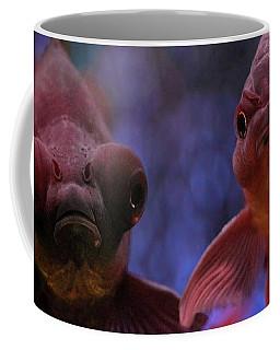 Angry Goldfish Coffee Mug