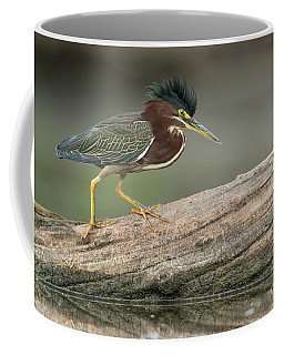 Angry Greenie Coffee Mug by Bryan Keil