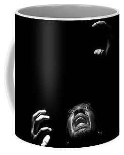 Coffee Mug featuring the photograph Anguish by Eric Christopher Jackson