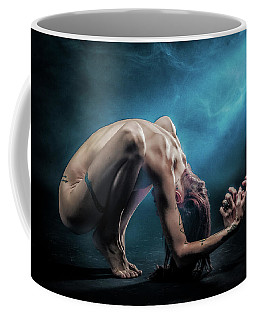Coffee Mug featuring the photograph Anguished by Rikk Flohr
