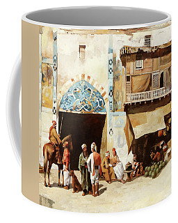 Angurie In Cortile Coffee Mug