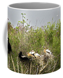 Anhinga Family Coffee Mug