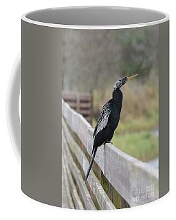 Anhinga On The Boardwalk Coffee Mug