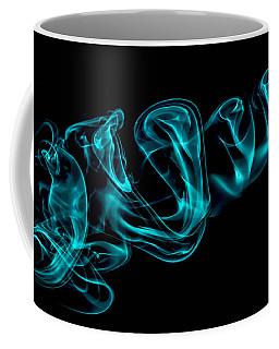 Artistic Smoke Illusion Coffee Mug