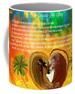 Animals-christmas Love Story Coffee Mug