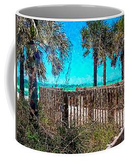 Anna Maria Boardwalk Access Coffee Mug