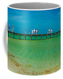 Anna Maria Island Historic City Pier Panorama Coffee Mug