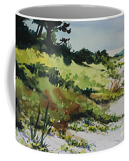 Coffee Mug featuring the painting Anna Marie Island by Elizabeth Carr