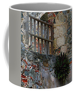 Annaberg Ruin Brickwork At U.s. Virgin Islands National Park Coffee Mug by Jetson Nguyen