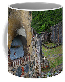 Annaberg Sugar Mill Ruins At U.s. Virgin Islands National Park Coffee Mug by Jetson Nguyen