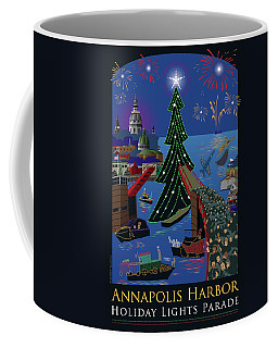 Annapolis Holiday Lights Parade Coffee Mug