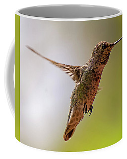 Coffee Mug featuring the photograph Anna's Hummingbird H24 by Mark Myhaver