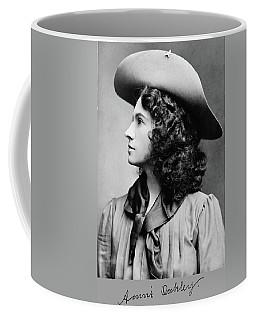 Annie Oakley Profile Coffee Mug