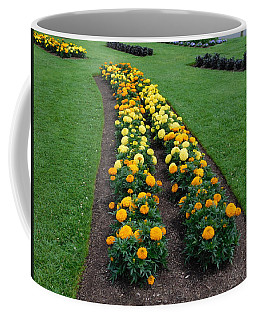 Annual Flower Bed Coffee Mug