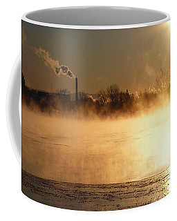 Coffee Mug featuring the photograph Another Cold Day by Juergen Weiss