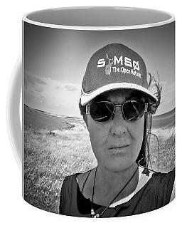 Another Fine Day Walk On The Island  Coffee Mug by Colette V Hera Guggenheim
