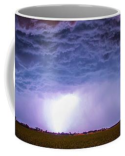 Coffee Mug featuring the photograph Another Impressive Nebraska Night Thunderstorm 007 by NebraskaSC