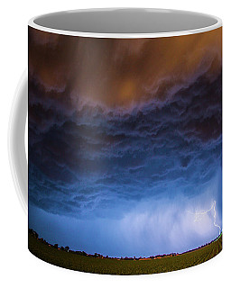 Another Impressive Nebraska Night Thunderstorm 008/ Coffee Mug