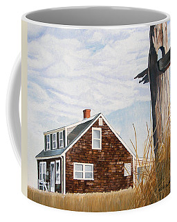 Coffee Mug featuring the painting Another New England Sunrise by Dominic White