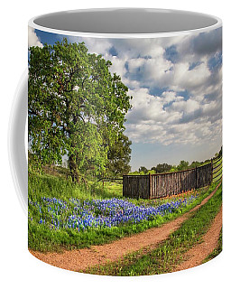 Bluebonnet Ranch Road Coffee Mug