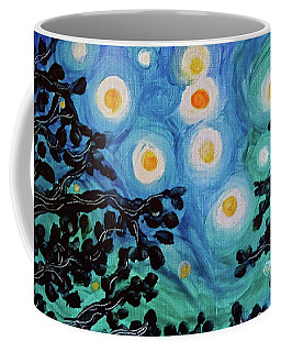 Coffee Mug featuring the painting Another Starry Night by Michele Myers