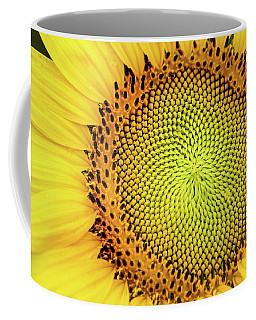 Another Sunflower Macro Coffee Mug