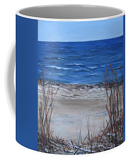 Another View Of East Point Beach Coffee Mug