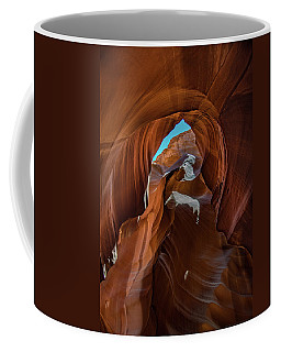 Coffee Mug featuring the photograph Antelope Canyon 16 by Phil Abrams