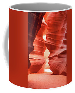 Coffee Mug featuring the photograph Antelope Canyon Chamber by Howard Bagley