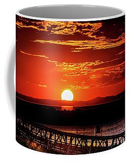 Antelope Island Marina Sunset Coffee Mug